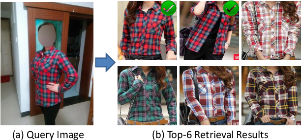 Figure 1 for Cross-domain Image Retrieval with a Dual Attribute-aware Ranking Network