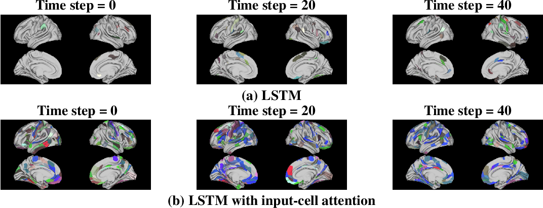 Figure 1 for Input-Cell Attention Reduces Vanishing Saliency of Recurrent Neural Networks