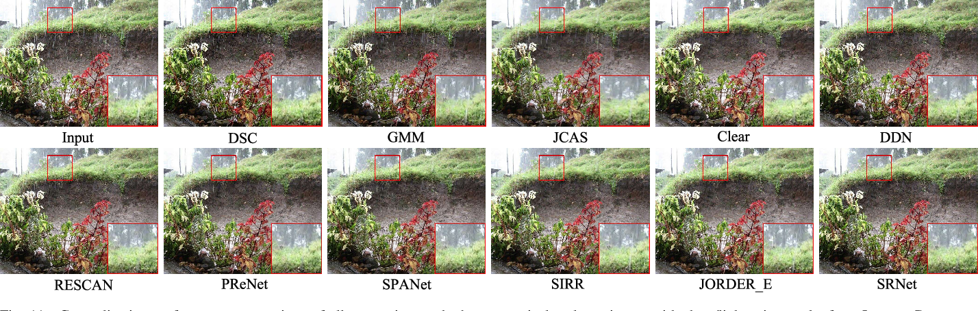 Figure 3 for Structural Residual Learning for Single Image Rain Removal