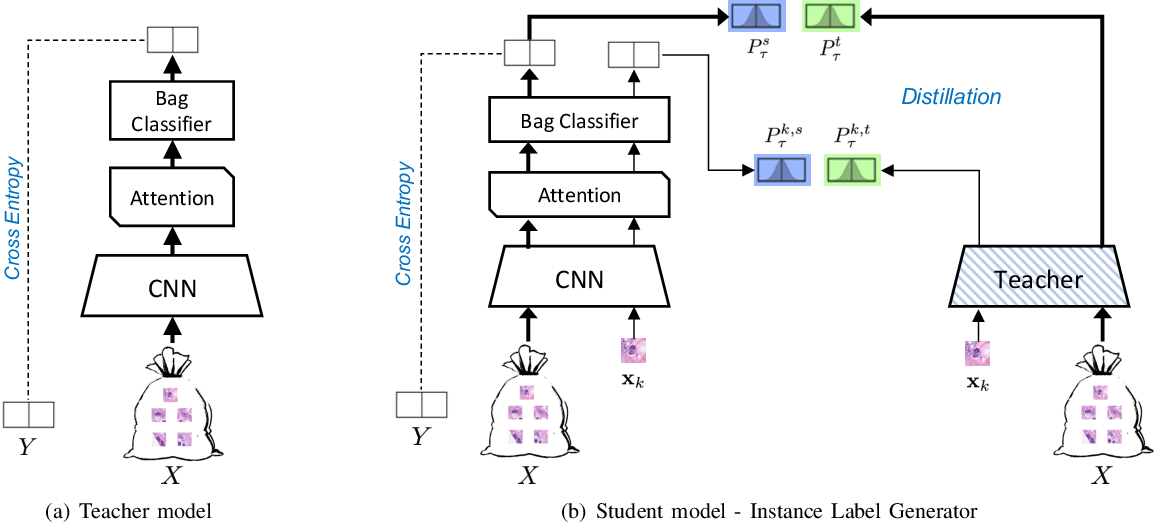 Figure 1 for Distill-to-Label: Weakly Supervised Instance Labeling Using Knowledge Distillation