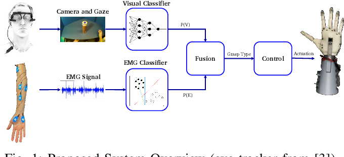 Figure 1 for Multimodal Fusion of EMG and Vision for Human Grasp Intent Inference in Prosthetic Hand Control