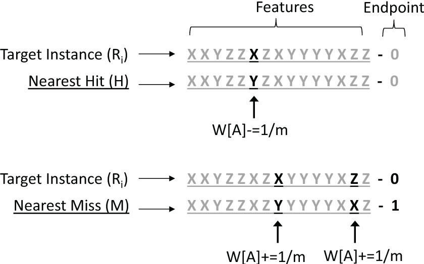 Figure 3 for Relief-Based Feature Selection: Introduction and Review