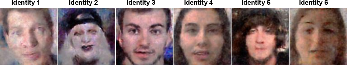Figure 3 for Wav2Pix: Speech-conditioned Face Generation using Generative Adversarial Networks