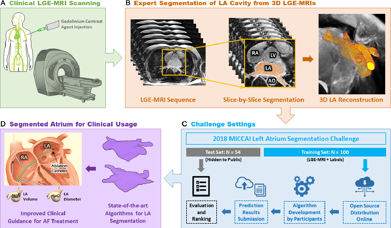 Figure 1 for A Global Benchmark of Algorithms for Segmenting Late Gadolinium-Enhanced Cardiac Magnetic Resonance Imaging