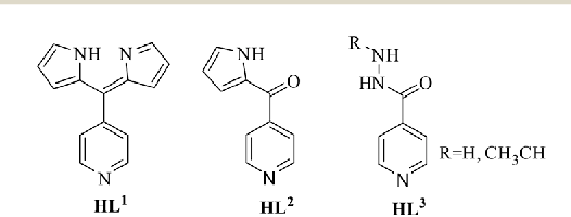 Fig. 1 Pyridine-substituted ligands used in this work.
