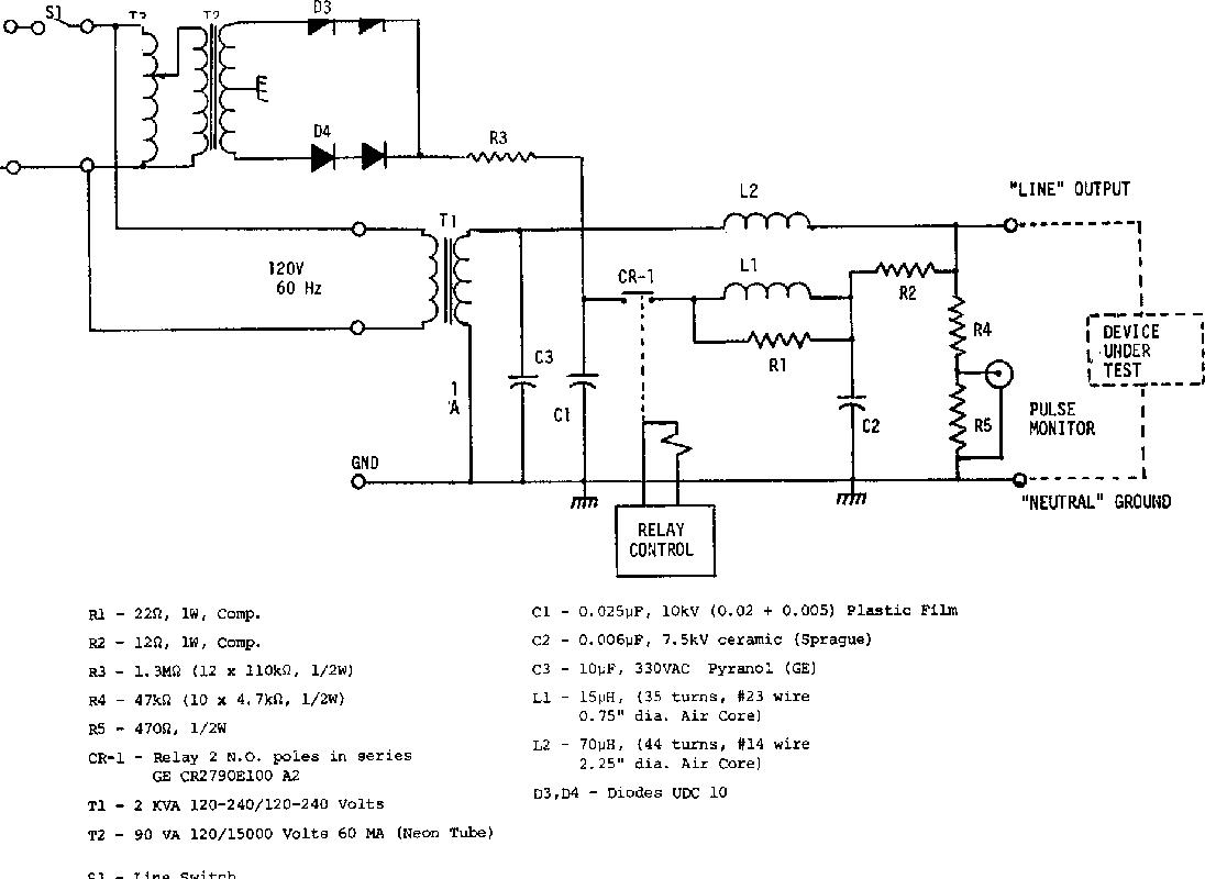 Transient Control Level Test Generators Semantic Scholar Wiring Diagram For Pulse Monitor