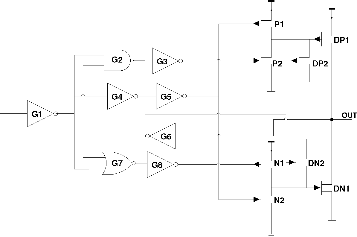 A Novel Low Swing Voltage Driver Design And The Analysis Of Its Auto Gate Wiring Diagram Robustness To Effects Process Variation External Disturbances Semantic Scholar