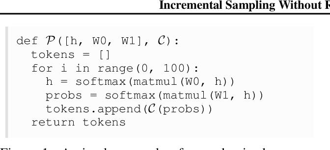 Figure 1 for Incremental Sampling Without Replacement for Sequence Models