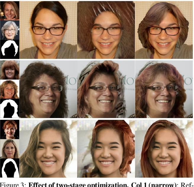 Figure 4 for LOHO: Latent Optimization of Hairstyles via Orthogonalization