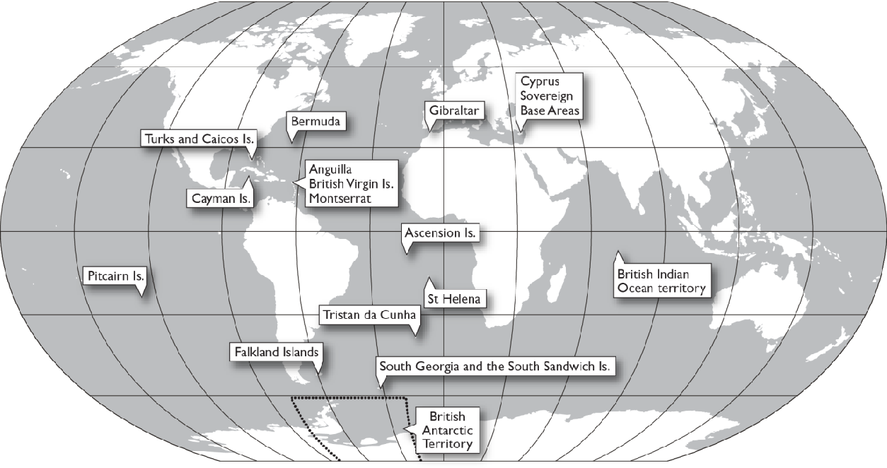 Map Of Uk Overseas Territories.Pdf Distant Relations A Study Of Identity Ethics And Power In The