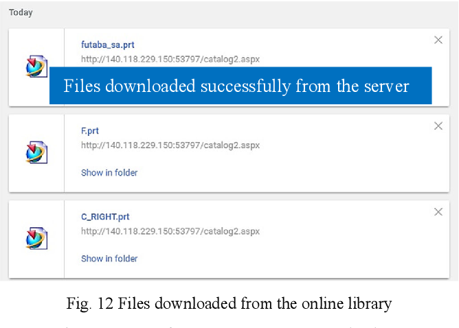 Figure 12 from Developing an Online Library for Faster