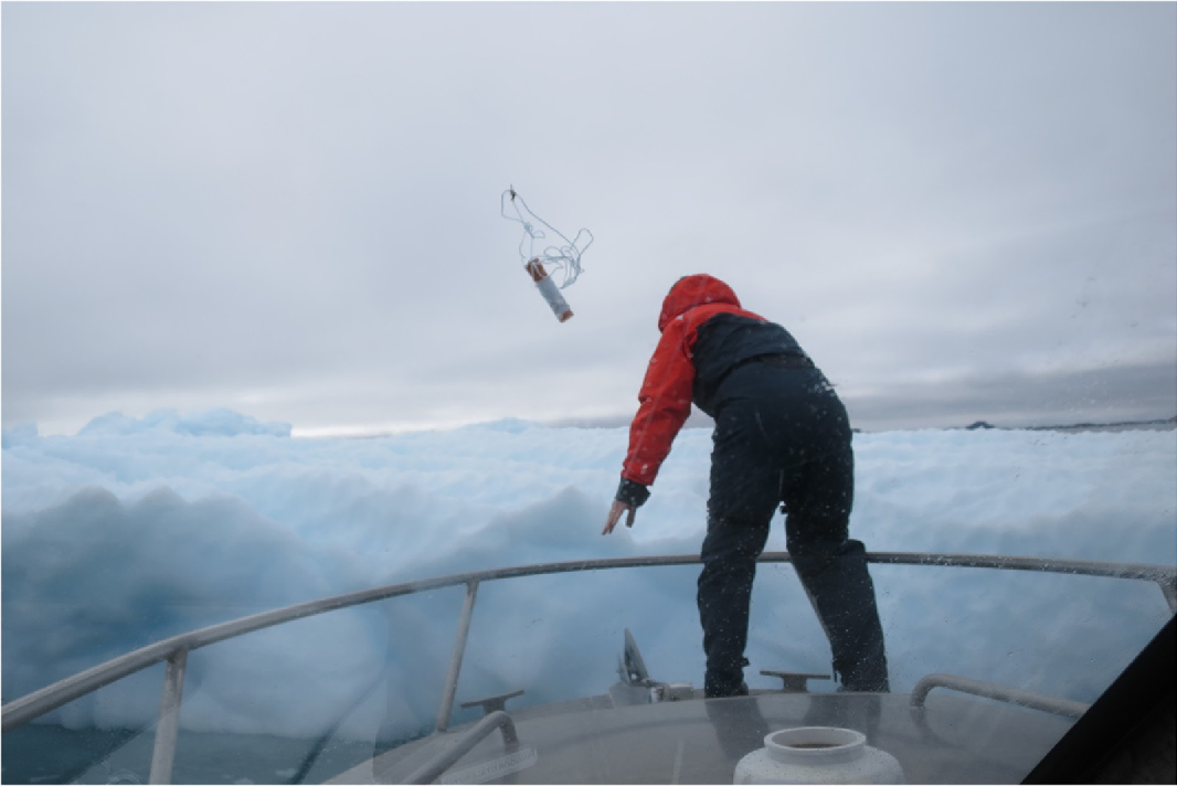 Adapting open-source drone autopilots for real-time iceberg