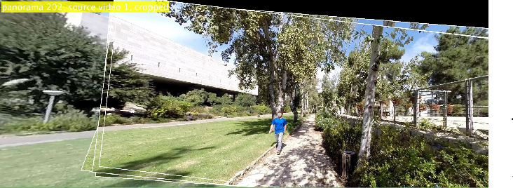 Figure 3 for EgoSampling: Wide View Hyperlapse from Egocentric Videos