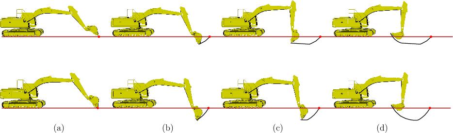 Figure 1 for Time Variable Minimum Torque Trajectory Optimization for Autonomous Excavator