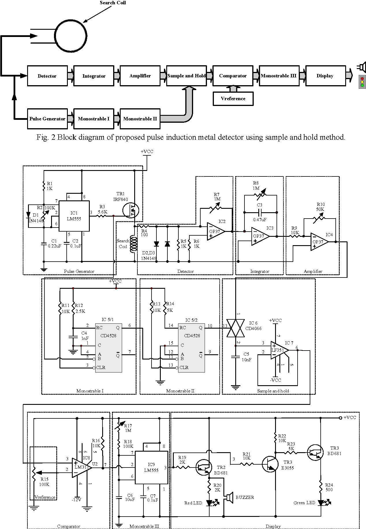 Figure 2 From Pulse Induction Metal Detector Using Sample And Hold Method