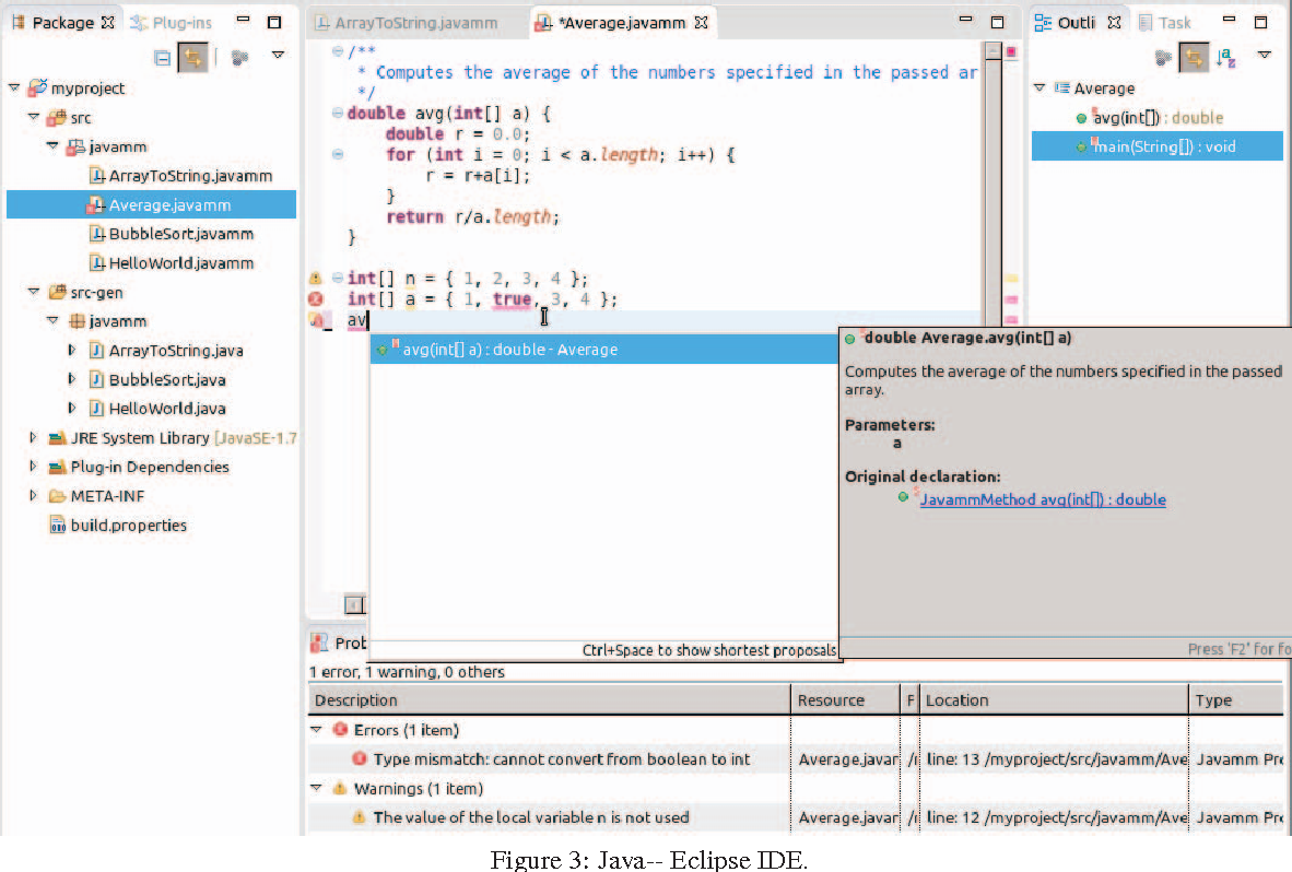 Java-meets eclipse: An IDE for teaching Java following the