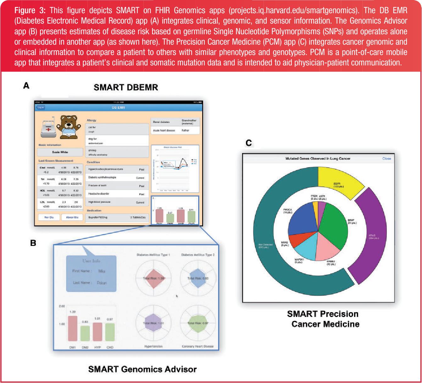 Figure 3 from SMART on FHIR Genomics: facilitating