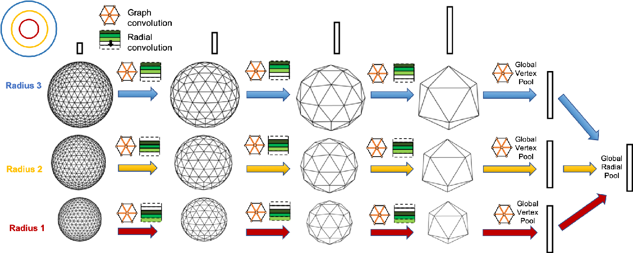 Figure 1 for Concentric Spherical GNN for 3D Representation Learning