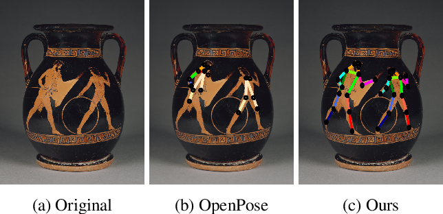Figure 1 for Enhancing Human Pose Estimation in Ancient Vase Paintings via Perceptually-grounded Style Transfer Learning