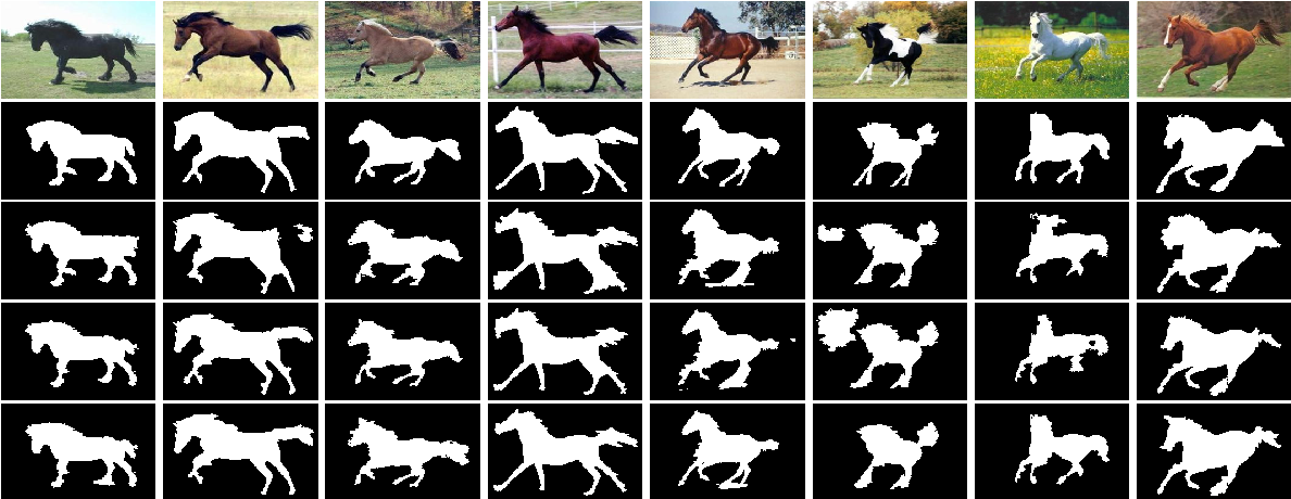 Figure 4 for CRF Learning with CNN Features for Image Segmentation
