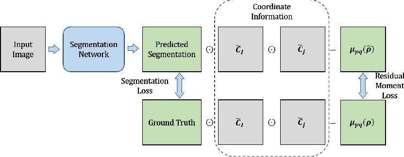 Figure 1 for Residual Moment Loss for Medical Image Segmentation