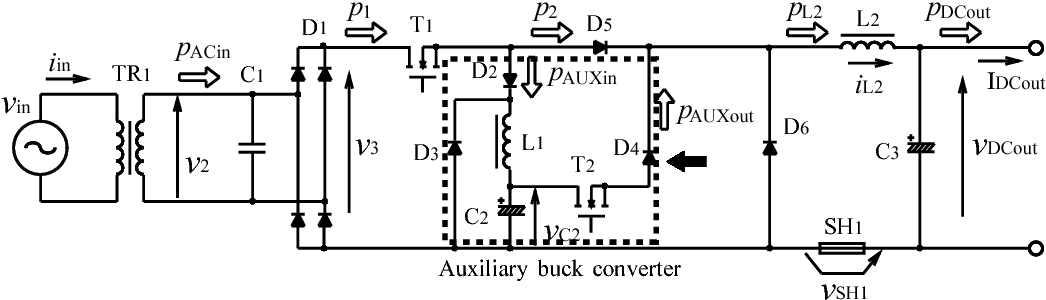 Figure 3 from Novel double chopper type AC-DC power supply with