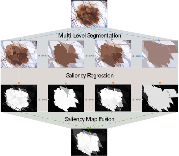 Figure 1 for Supervised Saliency Map Driven Segmentation of the Lesions in Dermoscopic Images