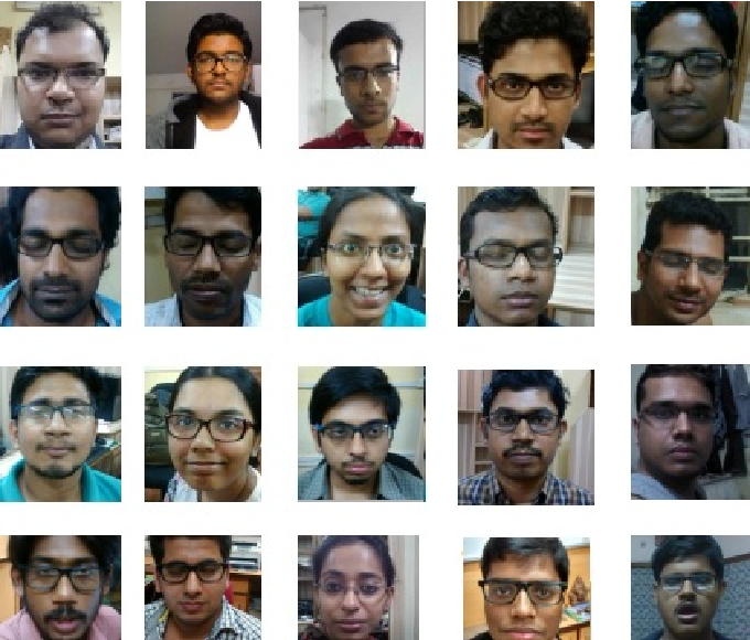 Figure 2 for SPECFACE - A Dataset of Human Faces Wearing Spectacles