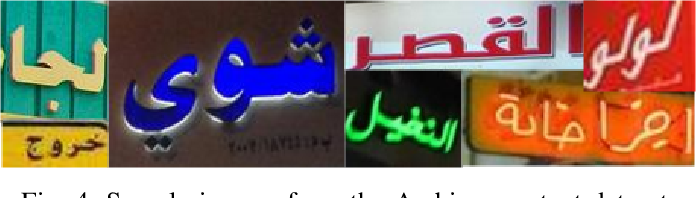 Figure 4 for Unconstrained Scene Text and Video Text Recognition for Arabic Script