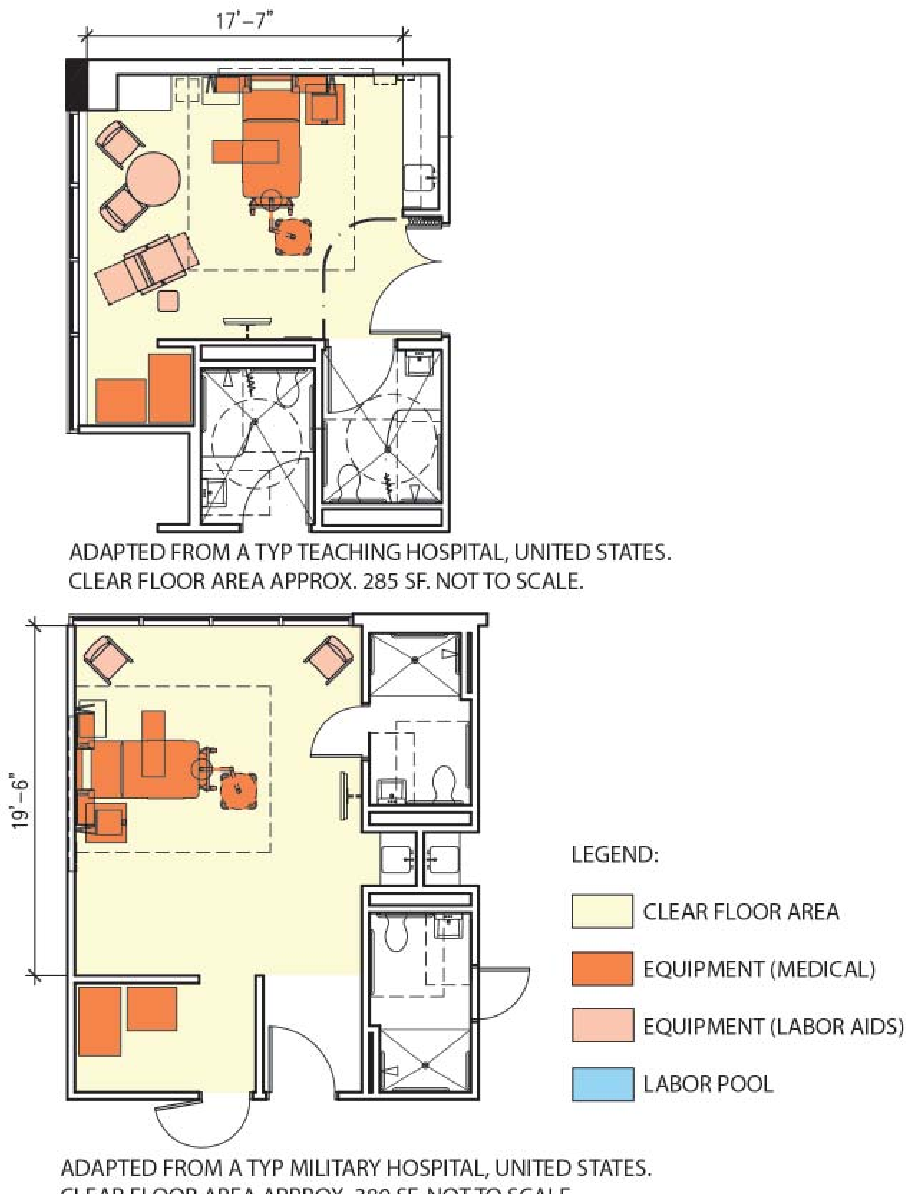 Room Design Program: Figure 2 From LABOR-DELIVERY-RECOVERY ROOM DESIGN THAT