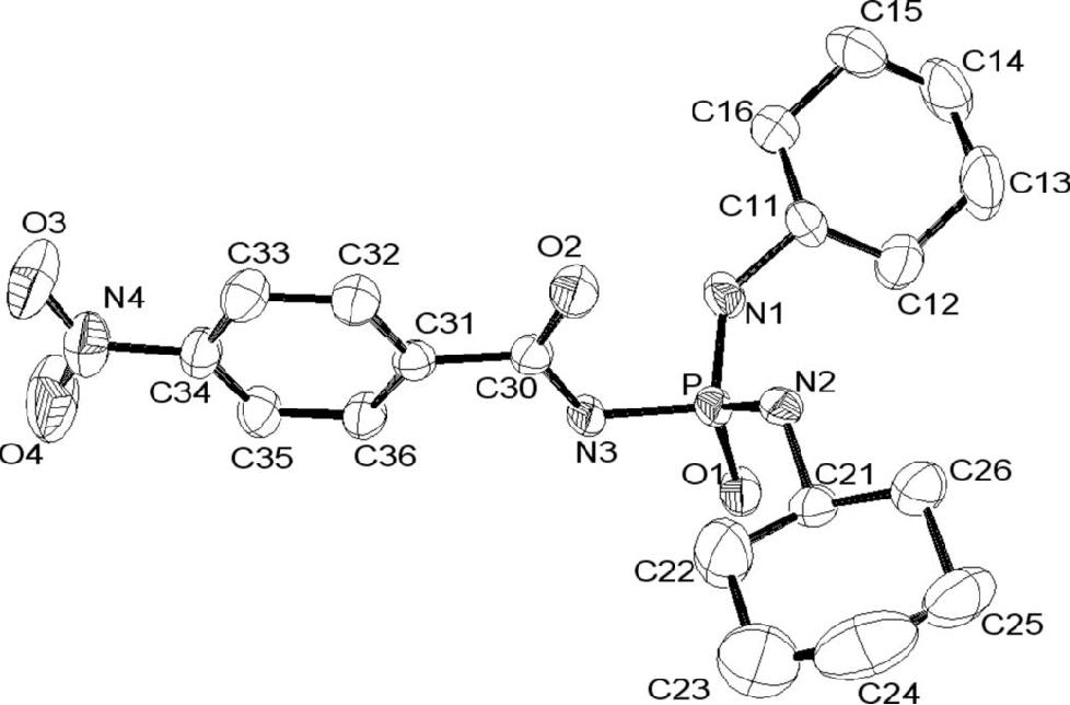 Nn Dicyclohexyl N 4 Nitrobenzoylphosphoric Triamide