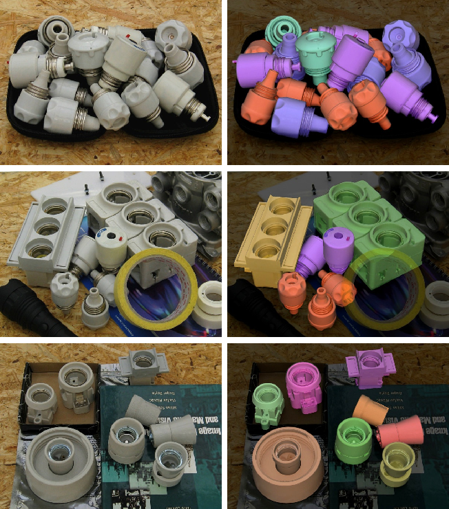 Figure 1 for T-LESS: An RGB-D Dataset for 6D Pose Estimation of Texture-less Objects
