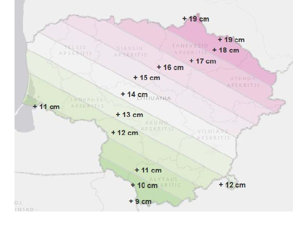 Figure 2 from National Height System Testing in Baltic
