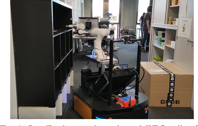 Figure 1 for Whole-Body Control of a Mobile Manipulator using End-to-End Reinforcement Learning