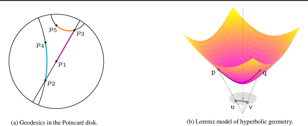 Figure 1 for Learning Continuous Hierarchies in the Lorentz Model of Hyperbolic Geometry