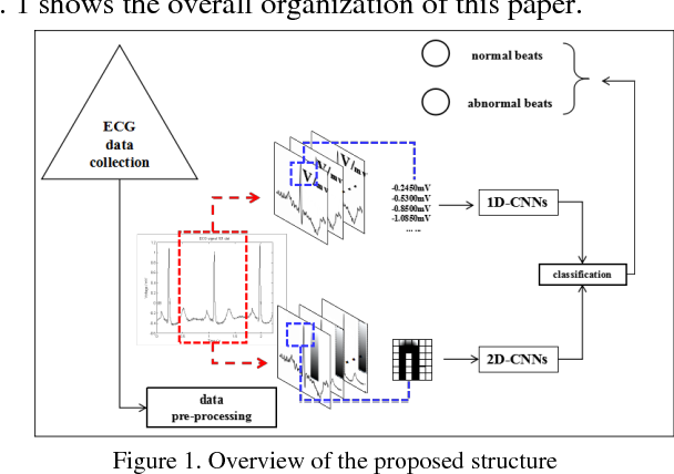 Figure 1 for A Comparison of 1-D and 2-D Deep Convolutional Neural Networks in ECG Classification