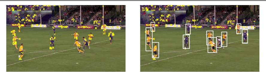 Figure 3 for Pan-tilt-zoom SLAM for Sports Videos
