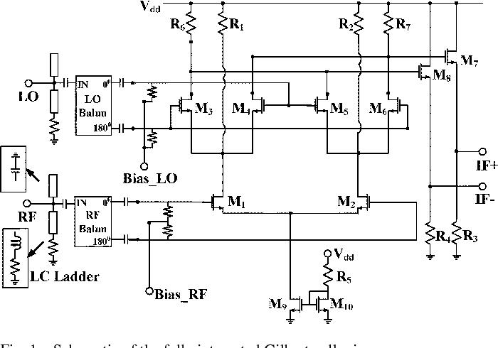 A 2575 ghz broadband gilbert cell mixer using 90 nm cmos technology figure 1 ccuart Choice Image