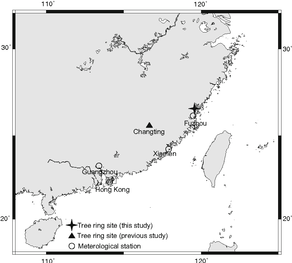 Inter And Intra Annual Tree Ring Cellulose Oxygen Isotope Diagram Variability In Response To Precipitation Southeast China Semantic Scholar