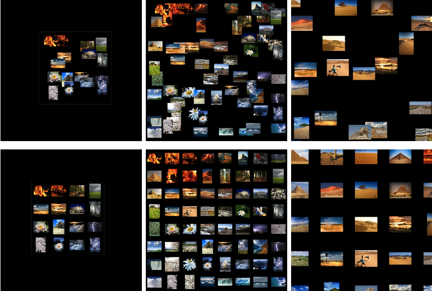 Visual image browsing and exploration vibe user for Christian hentschel