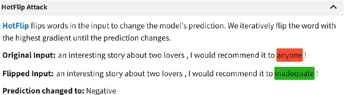 Figure 2 for AllenNLP Interpret: A Framework for Explaining Predictions of NLP Models