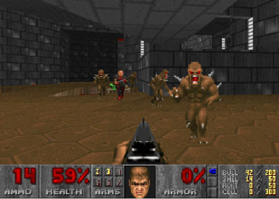 Figure 1 for ViZDoom Competitions: Playing Doom from Pixels