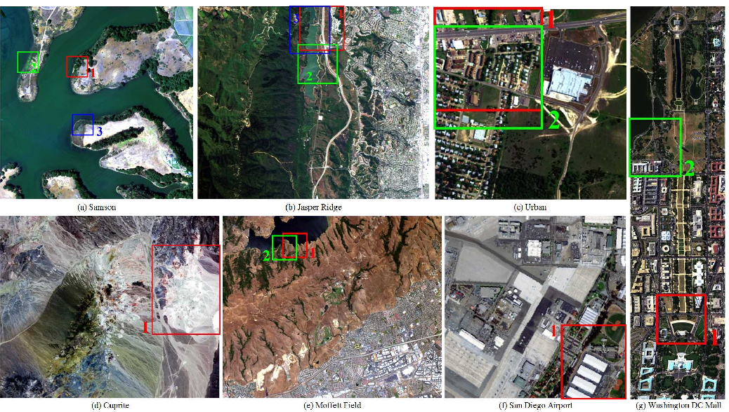 Figure 1 for Hyperspectral Unmixing: Ground Truth Labeling, Datasets, Benchmark Performances and Survey