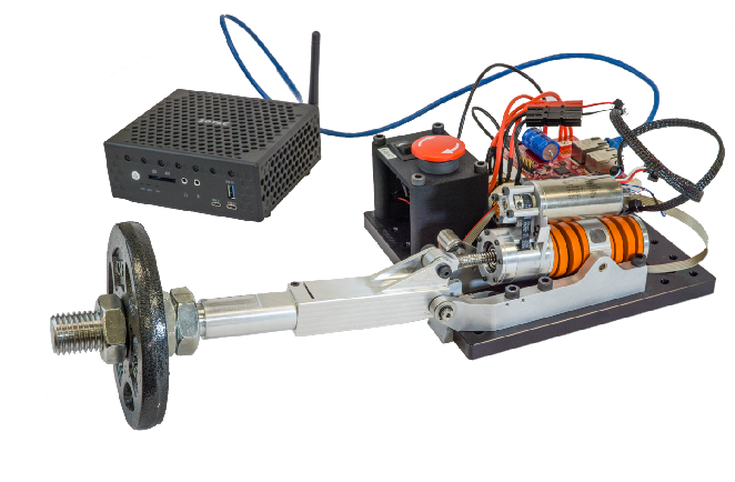Figure 2 for Decentralized Control Systems Laboratory Using Human Centered Robotic Actuators