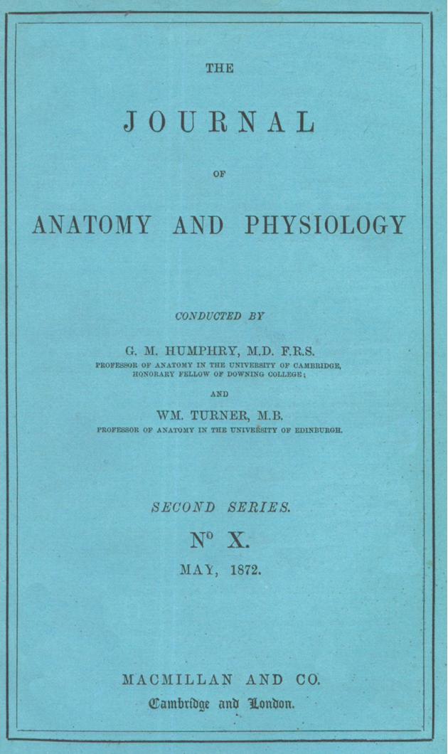 The Journal of Anatomy: origin and evolution. - Semantic Scholar