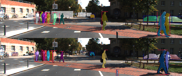 Figure 1 for Improving Video Instance Segmentation by Light-weight Temporal Uncertainty Estimates