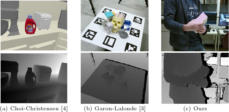 Figure 1 for A Framework for Evaluating 6-DOF Object Trackers