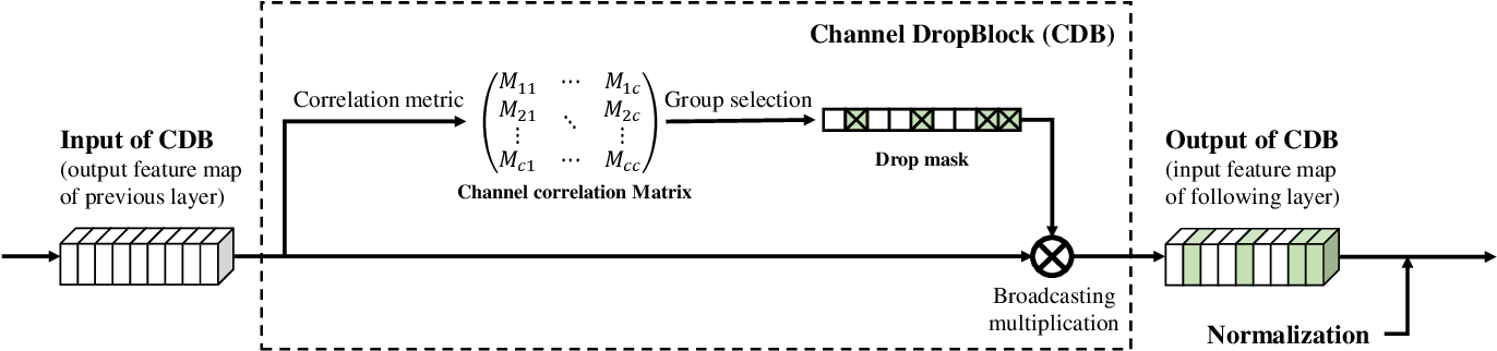 Figure 1 for Channel DropBlock: An Improved Regularization Method for Fine-Grained Visual Classification