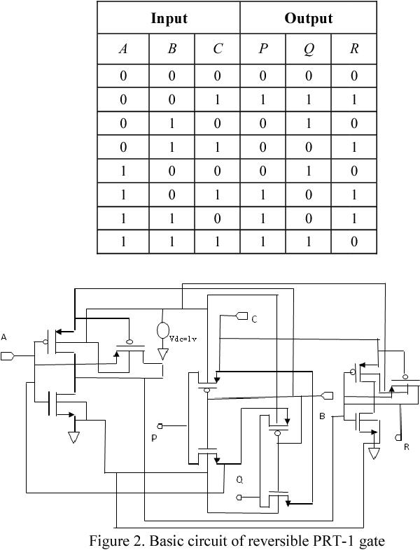 Figure 2. Basic circuit of reversible PRT-1