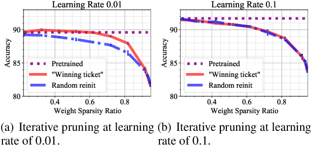 Figure 4 for Lottery Ticket Implies Accuracy Degradation, Is It a Desirable Phenomenon?